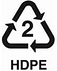 plastic recycle 2 HDPE