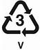 Recycling Plastic Symbol 3
