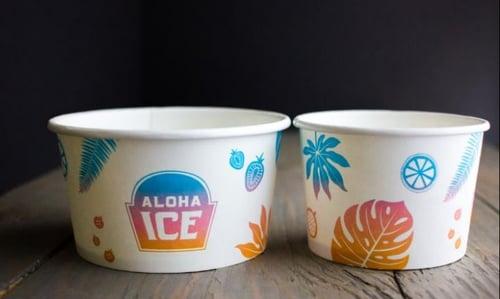 Custom Printed Paper Bowls