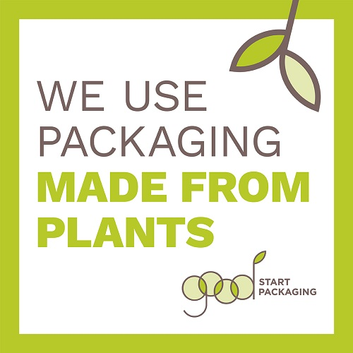 we use packaging made from plants