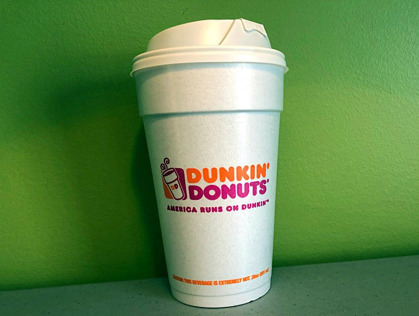 Dunkin' Donuts Phasing Out Styrofoam is an Environment Win