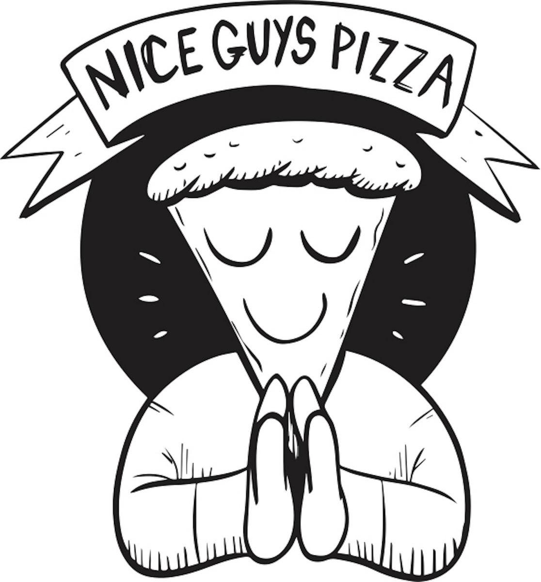 Nice Guys Pizza Logo